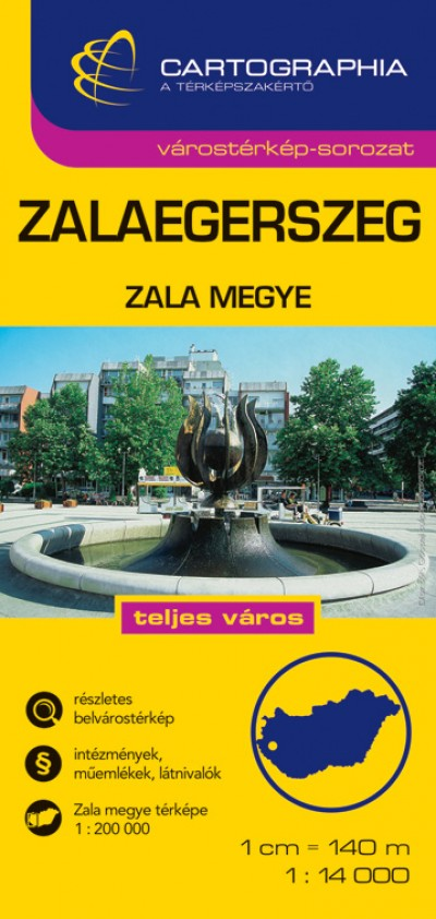 - Zalaegerszeg várostérkép - Zala megye