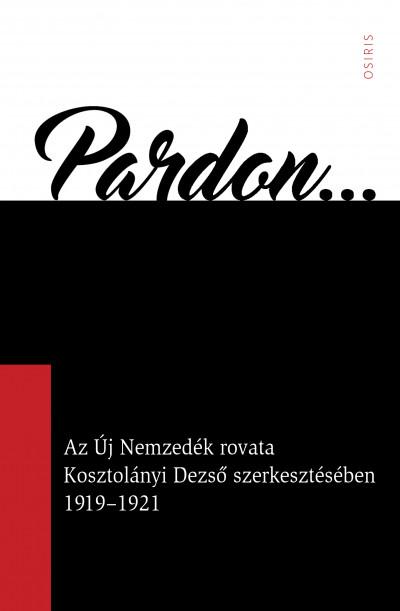 Arany Zsuzsanna  (Szerk.) - Pardon