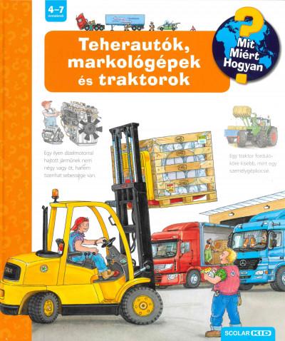 Andrea Erne - Teherautók, markológépek és traktorok