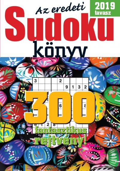 - Az eredeti Sudoku könyv - 2019 tavasz
