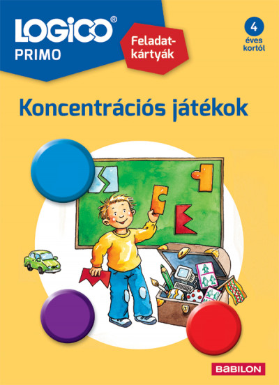 - LOGICO Primo 3228 - Koncentrációs játékok