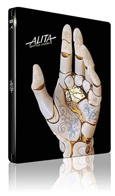 Robert Rodriguez - Alita: A harc angyala - limitált, fémdobozos Blu-ray 3D + Blu-ray