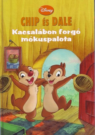 Szatmári Attila - Chip és Dale - Kacsalábon forgó mókuspalota + mese CD