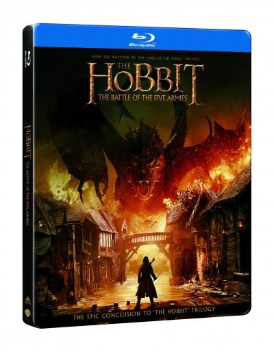 Peter Jackson - A hobbit: Az öt sereg csatája - Blu-ray Steelbook