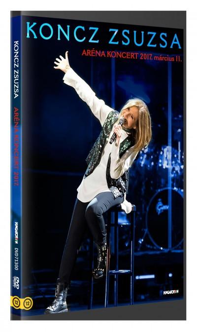 Koncz Zsuzsa - Koncz Zsuzsa Aréna koncert 2017. március 11. - DVD