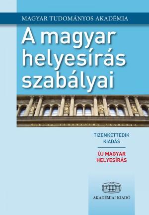 - A magyar helyes�r�s szab�lyai 12. kiad�s