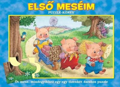 - Első meséim - Puzzle-könyv