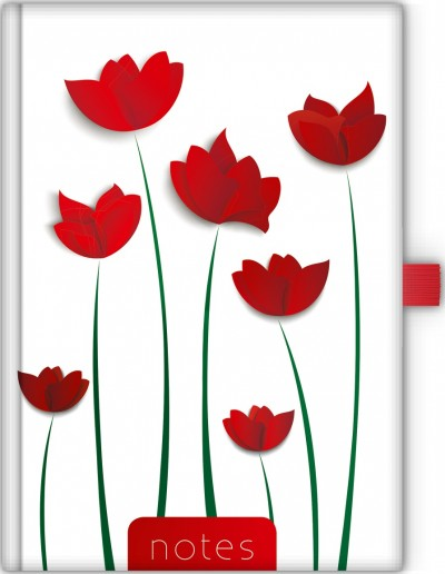 - Dayliner Notes Colors A5 vonalas - Flower