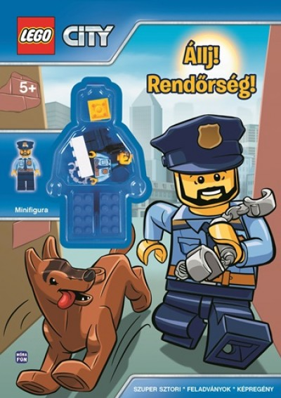 - LEGO City - Állj, rendőrség! - ajándék minifigurával