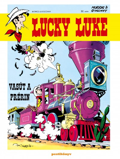 Goscinny - Lucky Luke 32. - Vasút a prérin