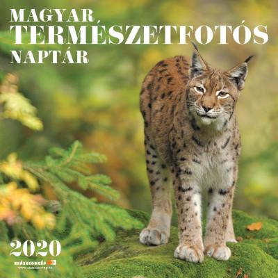 - Magyar Természetfotós naptár 30x30 cm - 2020