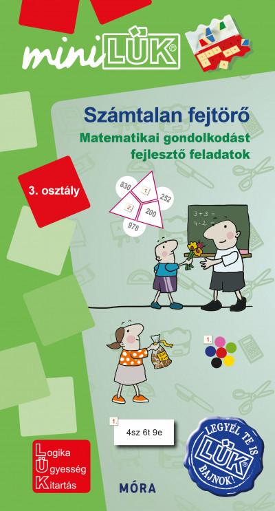 Török Ágnes  (Összeáll.) - Számtalan fejtörő 3. osztály