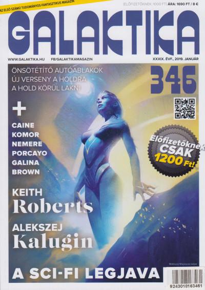 Németh Attila  (Szerk.) - Galaktika Magazin 346.szám - 2019. január
