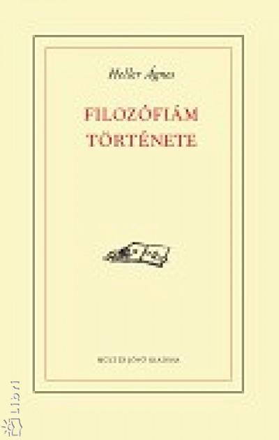 FILOZÓFIÁM TÖRTÉNETE
