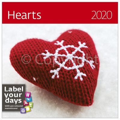 - Dayliner falinaptár - Hearts LP 2020