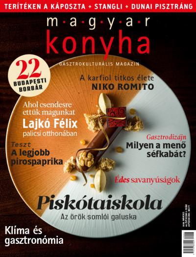 Lévai Anikó  (Szerk.) - Mészáros Gabriella  (Szerk.) - Vinkó József  (Szerk.) - Magyar Konyha - 2020. március (44. évfolyam 3. szám)
