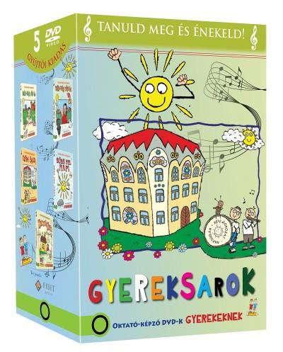 Zónai Tibor - Gyereksarok Díszdoboz - Oktató-képző DVD-k gyerekeknek