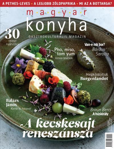 - Magyar Konyha - 2019. szeptember (43. évfolyam 9. szám)