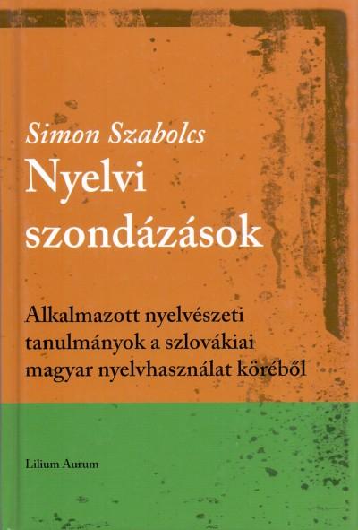 Simon Szabolcs - Nyelvi szondázások