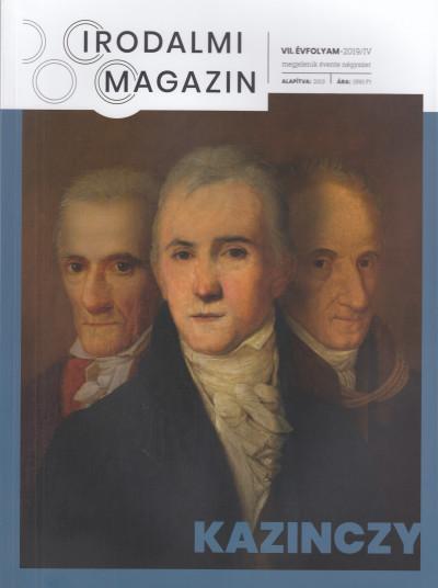Szentmártoni János  (Szerk.) - Irodalmi Magazin 2019/4