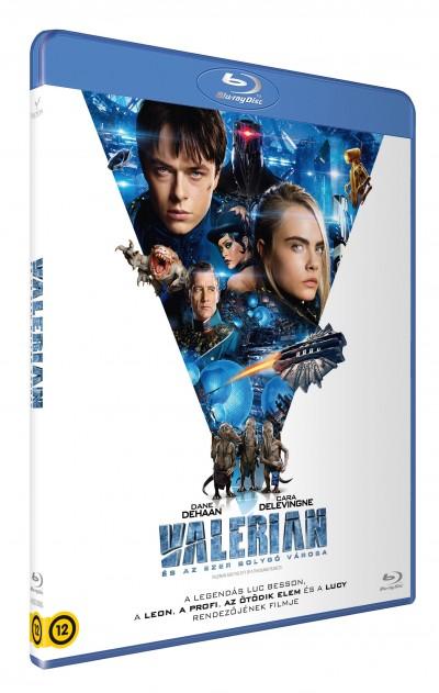 Luc Besson - Valerian és az ezer bolygó városa - Blu-ray