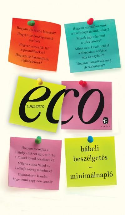 Eco Umberto - Barna Imre  (Vál.) - Bábeli beszélgetés