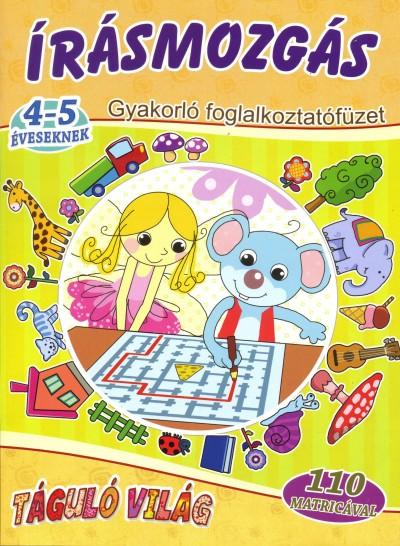 Válogatás - Írásmozgás 4-5 éveseknek