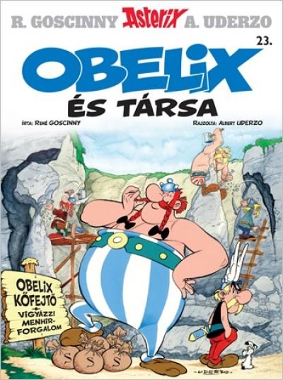 René Goscinny - Albert Uderzo - Asterix 23. - Obelix és társa