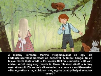 Kiss Ferenc - A titkos kert - Diafilm