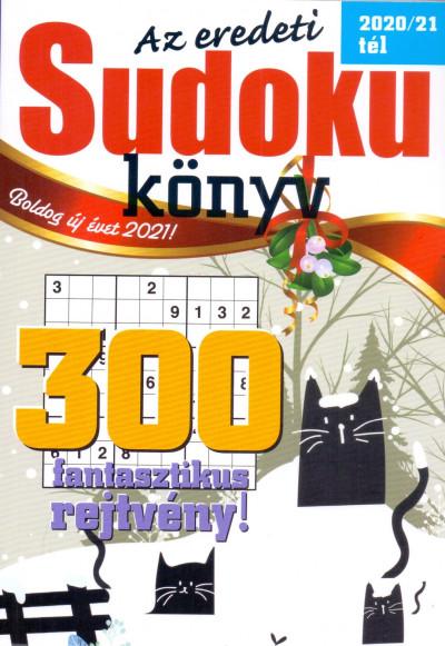 - Az eredeti Sudoku könyv - 2020/2021 tél