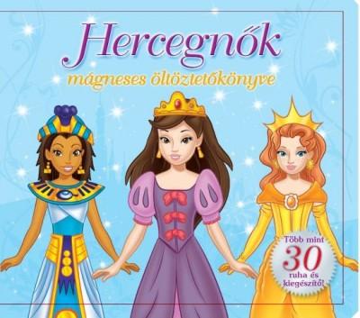 - Hercegnők mágneses öltöztetőkönyve