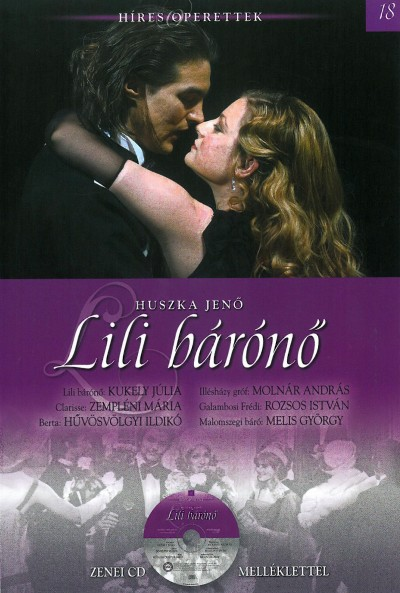 Huszka Jenő - László Ferenc - Lili bárónő - CD melléklettel