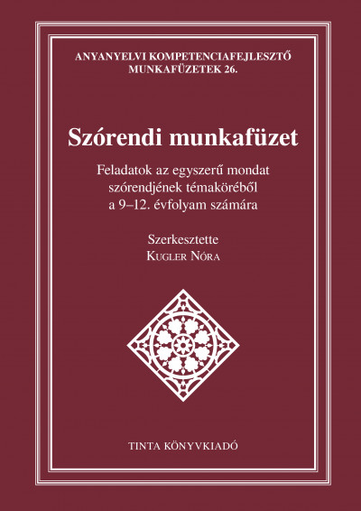 Kugler Nóra - Szórendi munkafüzet