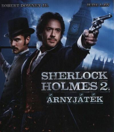 Guy Ritchie - Sherlock Holmes 2. - Árnyjáték (Blu-ray)