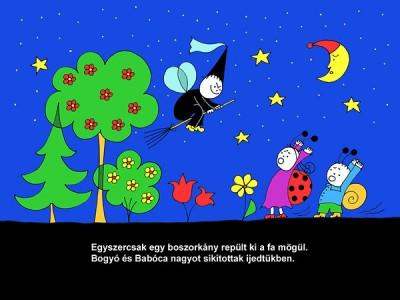 Bartos Erika - Bogyó és Babóca 3. (A boszorkányok) - diafilm