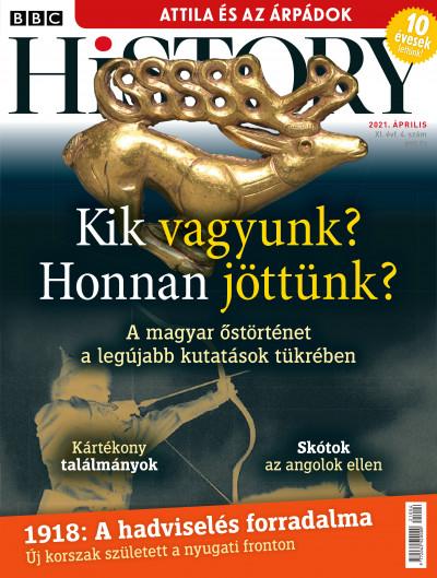 Győrffy Iván  (Szerk.) - Litván Dániel  (Szerk.) - Romsics Ignác  (Szerk.) - BBC History - 2021. XI. évfolyam 04. szám - április