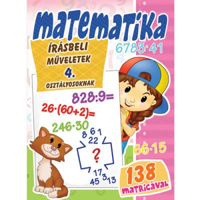 - Matematika - Írásbeli műveletek 4. osztályosoknak
