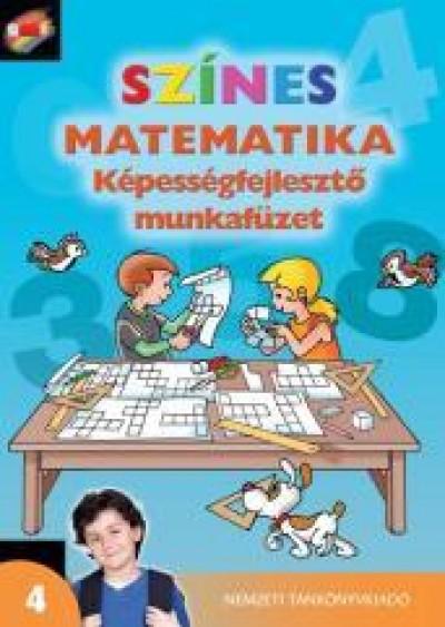 Nagy-Baló András - Színes matematika - Képességfejlesztő munkafüzet 4.