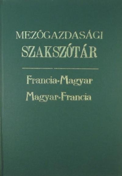 Sajó Endre  (Szerk.) - Mezőgazdasági szakszótár