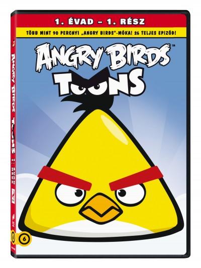 - Angry Birds - Első évad - Második rész - dvd
