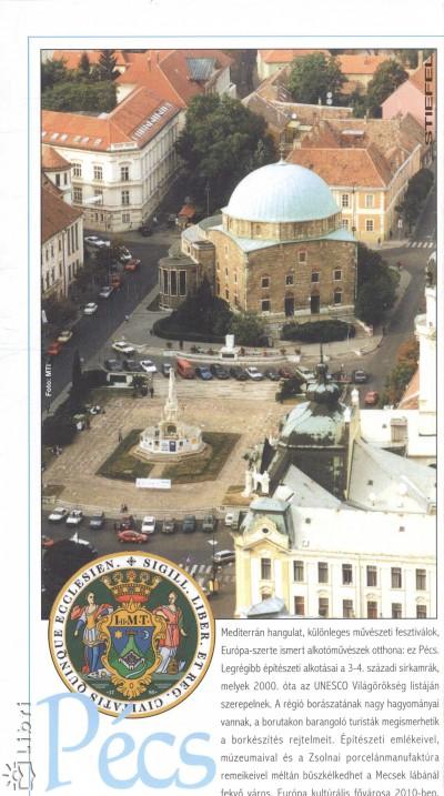 - Pécs várostérkép