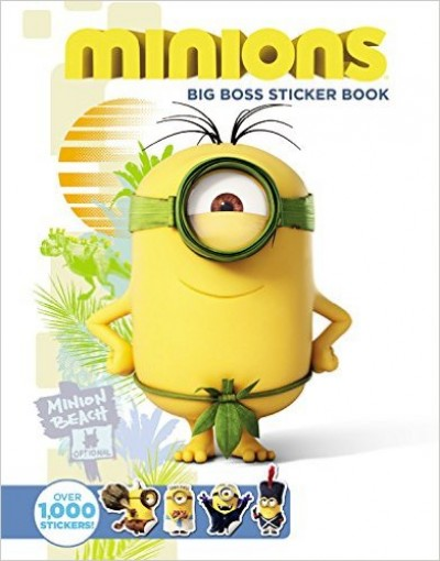 - Minions - Big Boss Sticker Book