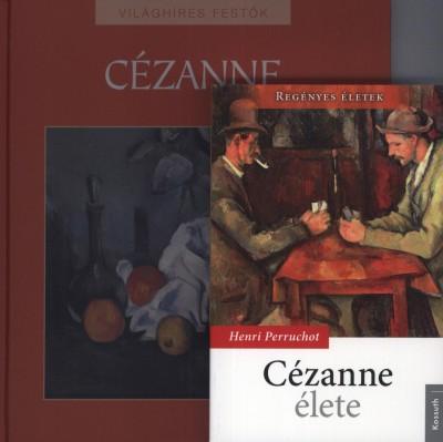 Henri Perruchot - Hajnal Gabriella  (Szerk.) - Cézanne élete + Világhíres festők: Cézanne album