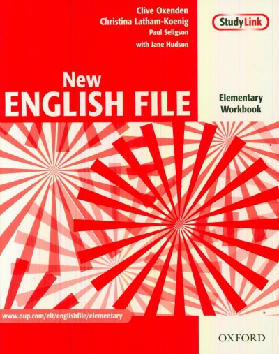 Christina Latham-Koenig - Clive Oxenden - Jane Hudson  (Szerk.) - Paul Seligson  (Szerk.) - New English File Elementary Workbook + MultiROM