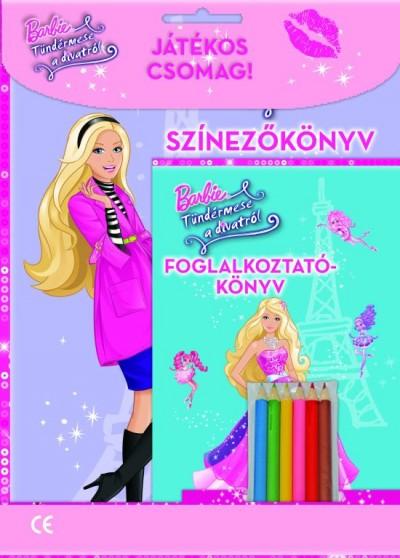 - Barbie - Tündérmese a divatról  - Játékos csomag