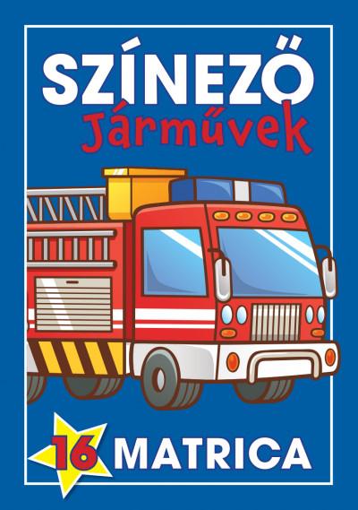 Navratyil Edina  (Szerk.) - Színező - Járművek