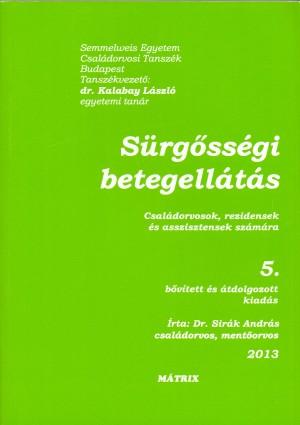 Dr. Sir�k Andr�s - S�rg�ss�gi betegell�t�s