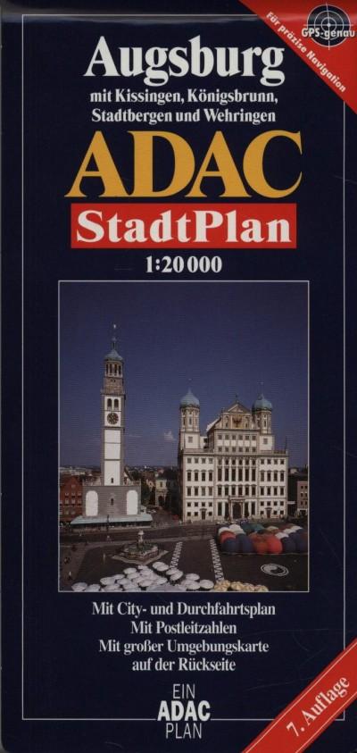 - Augsburg várostérkép