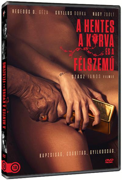 Szász János - A hentes, a kurva és a félszemű - DVD