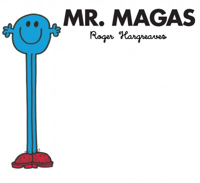 Roger Hargreaves - Mr. Magas
